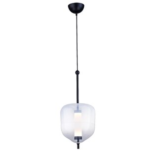 Wrought Studio Bilderback 1-Light LED Geometric Pendant