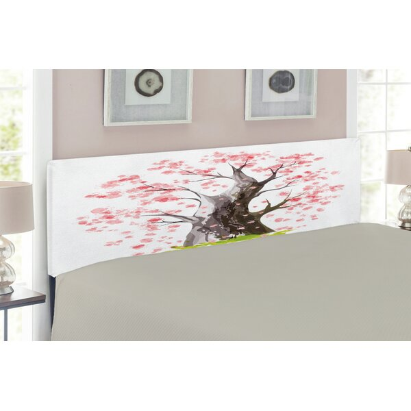 Nature Queen Upholstered Panel Headboard by East Urban Home