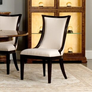 Parisian Upholstered Dining Chair (Set of 2) Sarreid Ltd