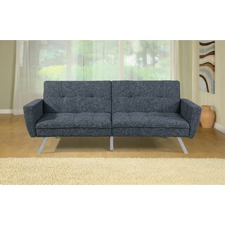 Aneurin Twin Tufted Back Convertible Sofa by Ebern Designs SKU:BA968615 Details