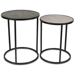 Cristiano 2 Piece Nesting Tables