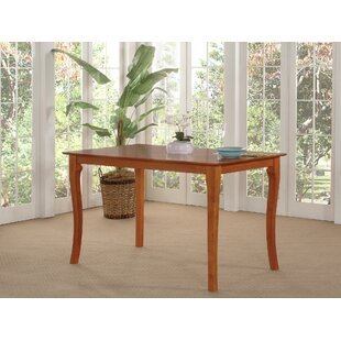 Newry Solid Wood Dining Table by DarHome Co Great price