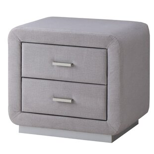 Zwilling 2 Drawer Bedside Table By Brayden Studio