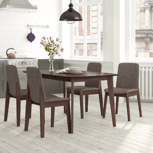 Tahquitz Dining Set With 4 Chairs By George Oliver