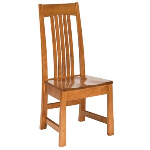 Sherman Solid Wood Dining Chair by Conrad Grebel