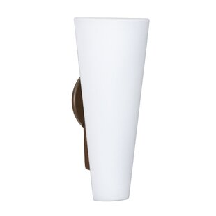 Orren Ellis Hooper Modern 2-Light Outdoor Sconce