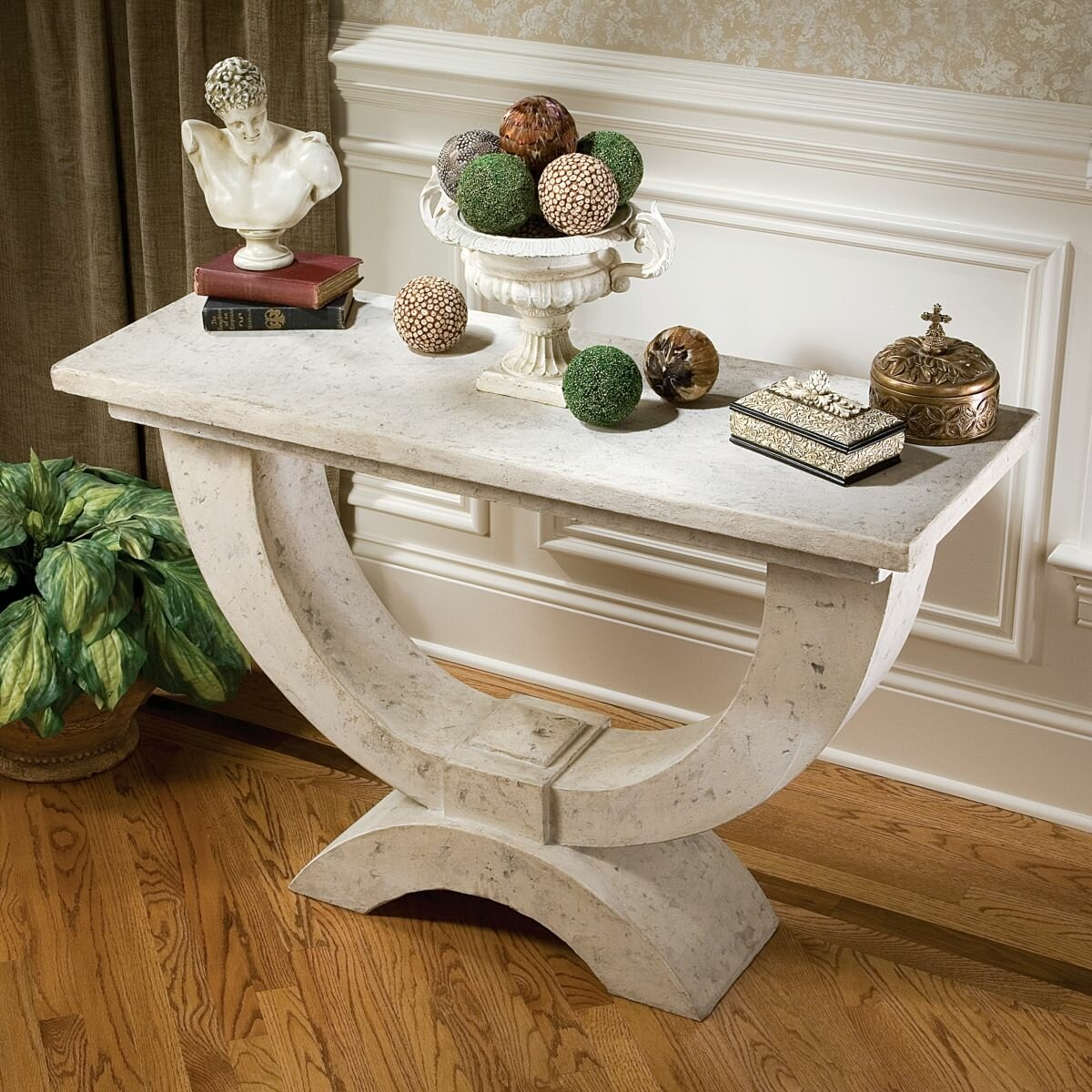 Moderno Arch Of Stone Console Table