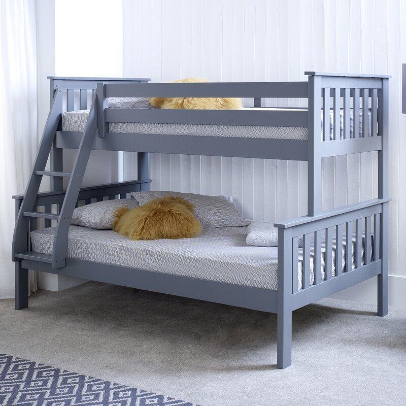 Aaron Triple Sleeper Bunk Bed With Mattress
