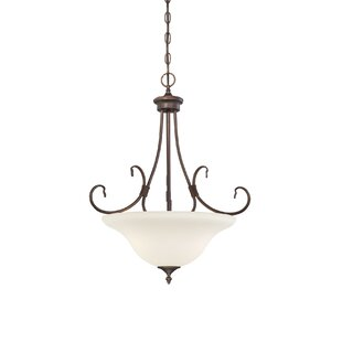 Charlton Home Lana 3-Light Bowl Pendant