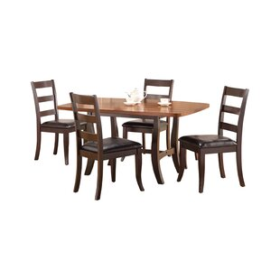 Waco 5 Piece Solid Wood Dining Set