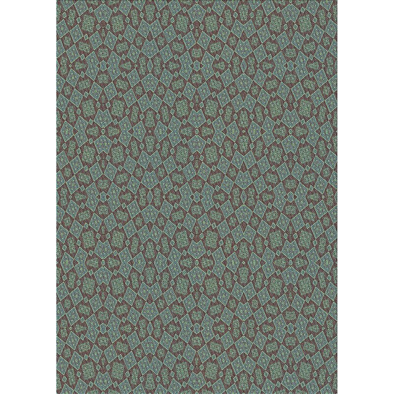 East Urban Home Wool Cadet Blue Area Rug Wayfair