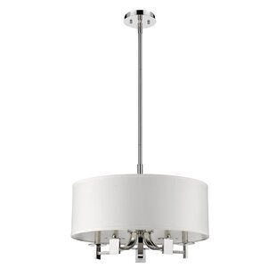Mckeown 5-Light Drum Chandelier