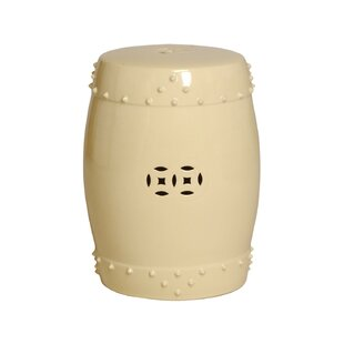 Darby Home Co Engelhardt Large Drum Garden Stool