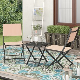 Opalstone 3 Piece Rattan Conversation Set