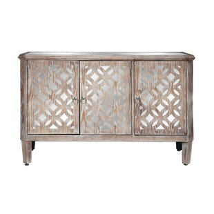 Rappaport 3 Door Accent Cabinet by Bungalow Rose