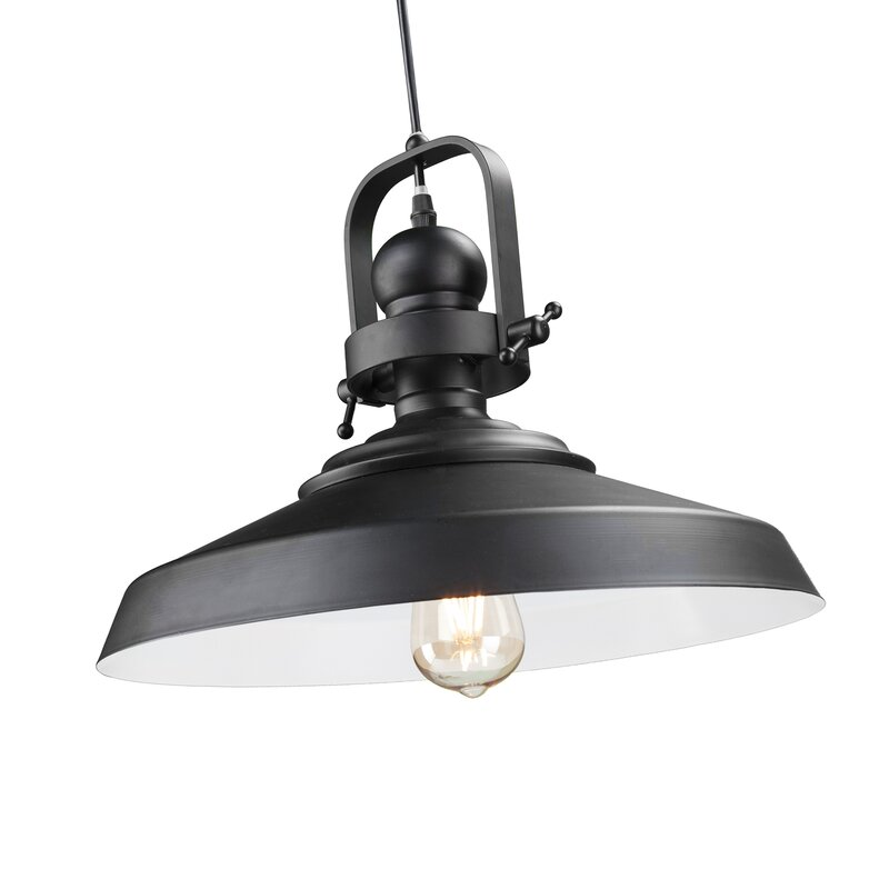Kipton 1-Light Cone Pendant & Reviews | Joss & Main