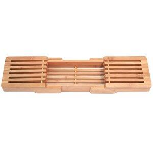 Ashworth Adjustable Bamboo Bath Caddy