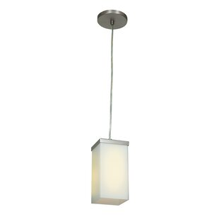 Monhollan 1-Light Square/Rectangle Pendant by Orren Ellis