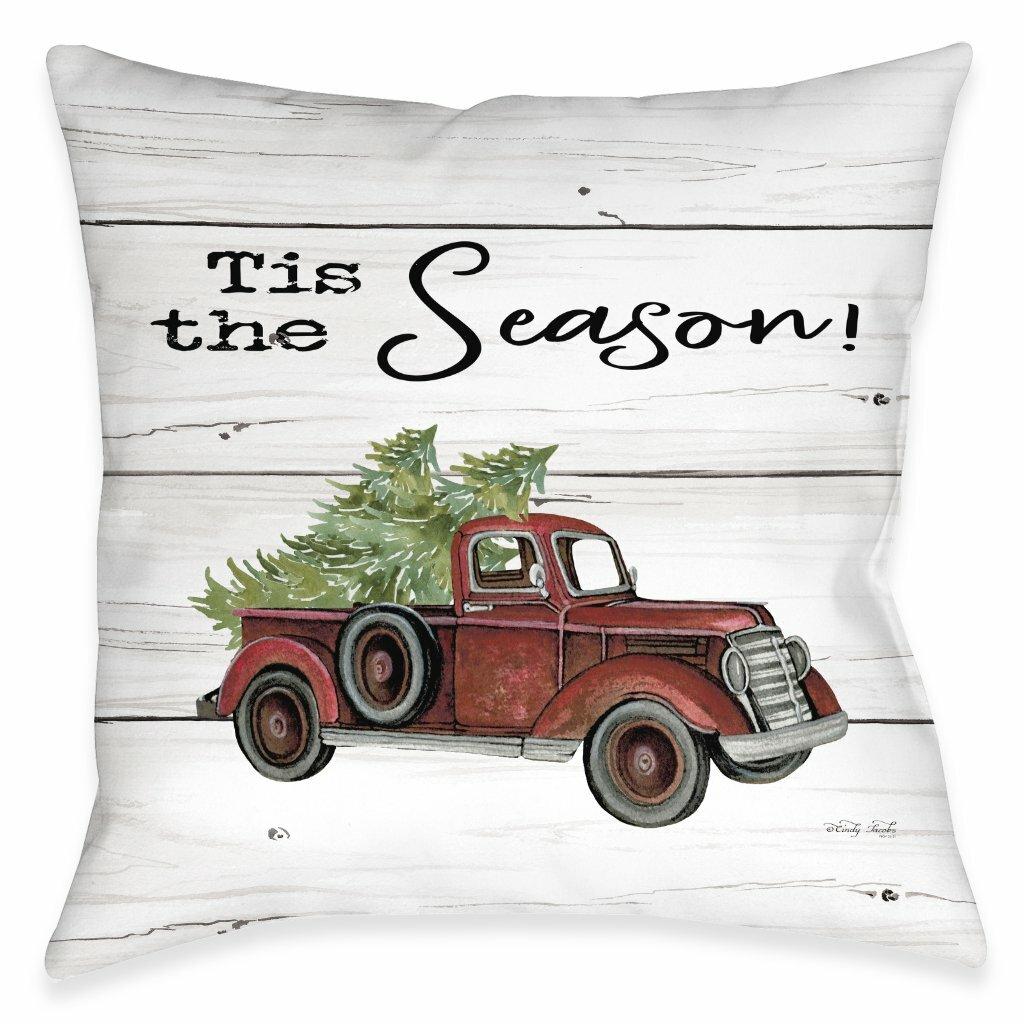 The Holiday Aisle Alec Tis The Season Throw Pillow Wayfair