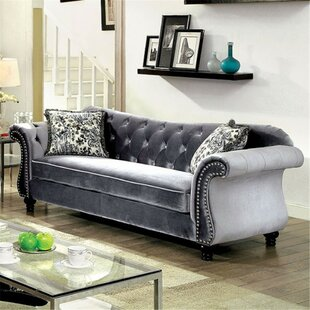 Javon Chesterfield Sofa by Rosdorf Park