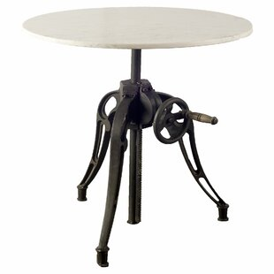 Wenham Adjustable Pub Table by 17 Stories