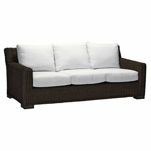 Patio Sofa With Cushions By Summer Classics