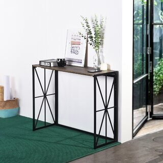 """Ferrenby 39.4"""" Solid Wood Console Table by Ebern Designs SKU:AD304314 Guide"""