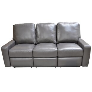 Mirage Leather Reclining Sofa Omnia Leather