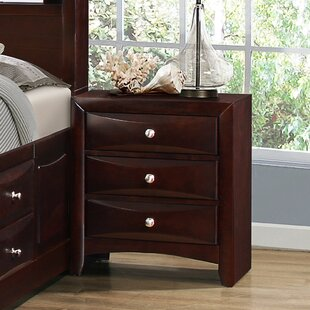 Red Barrel Studio Oreland 3 Drawer Nightstand