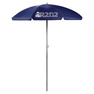 R2-D2 5.5' Portable Beach Umbrella by ONIVA?