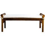 Bella Vista Upholstered Bench by Bungalow Rose