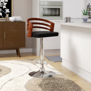Hancock Adjustable Height Swivel Bar Stool by Corrigan Studio