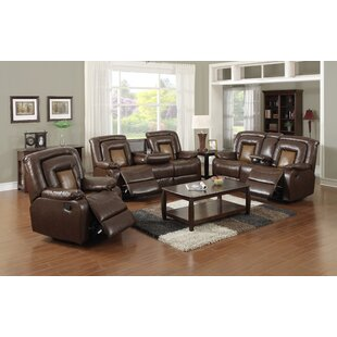 Reviews Strock Reclining 3 Piece Living Room Set by Red Barrel Studio Reviews (2019) & Buyer's Guide