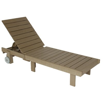 Beige Plastic Outdoor Chaise Amp Lounge Chairs You Ll Love