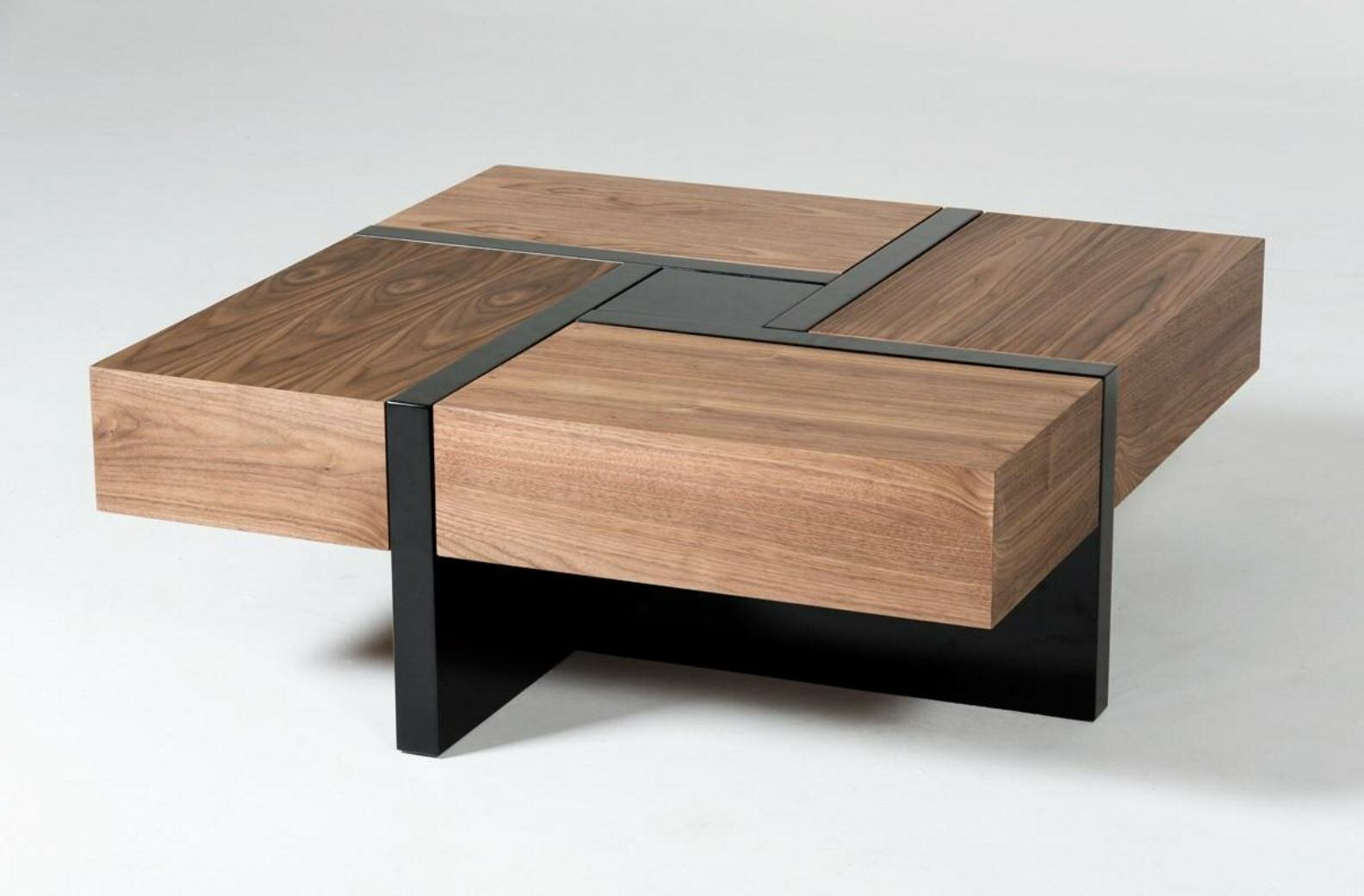 Lipscomb Makai Coffee Table With Storage Reviews Allmodern