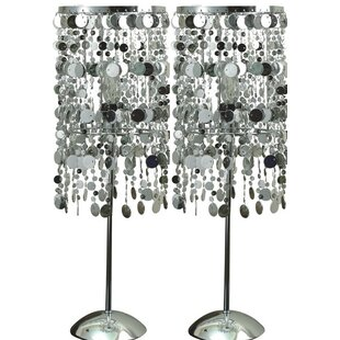 Aliasgar Disc Chain 20 Table Lamp (Set of 2)