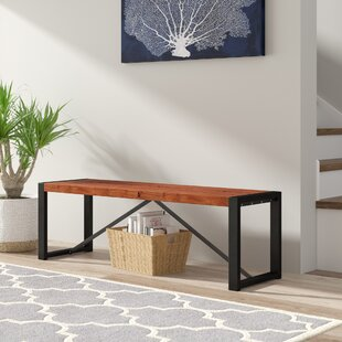 Maggie Wood Bench By Union Rustic