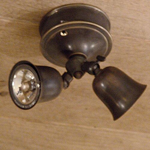 Marceline 2 Light Ceiling Spotlight Williston Forge