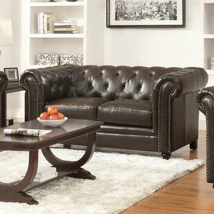 Harrah Chesterfield Loveseat