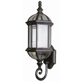 Powell 1-Light Outdoor Sconce By Laurel Foundry Modern Farmhouse Outdoor Lighting