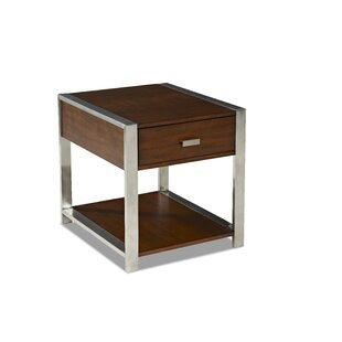 Buy luxury Tony End Table by Klaussner Furniture