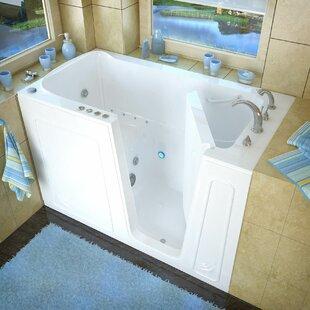 Aspen 60 x 32 Whirlpool & Air Jetted Bathtub