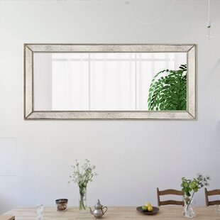 Haledon Bead Beveled Wall Mirror by Alcott Hill