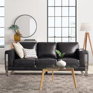 Olivarez Leather Sofa