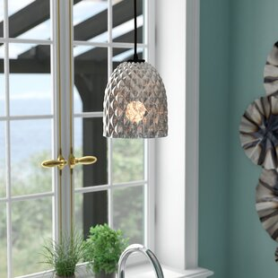 Mistana Liberty 1-Light Bell Pendant