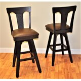 Swivel 30 Bar Stool (Set of 2) by Red Barrel Studio®