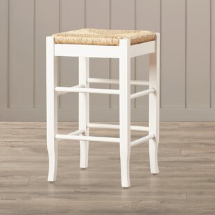 Online Reviews Hogan 24 Bar Stool with Cushion by Beachcrest Home Reviews (2019) & Buyer's Guide