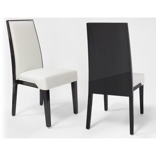 Onarga Dining Chair in White Set of 2 by Orren Ellis