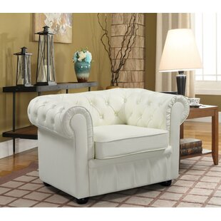 Russell Chesterfield Chair by House of Hampton Discount