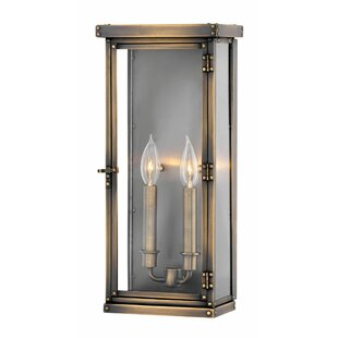 Reviews Hamilton 2-Light Outdoor Flush Mount By Hinkley Lighting